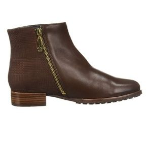 NEW MARC JOSEPH NEW YORK Womens Leather Ankle Boot
